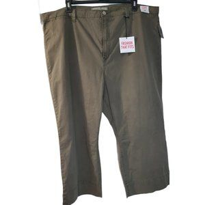 Celebrity Pink Plus High-Rise Straight Sz 24 Olive